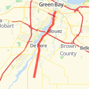 Green Bay Bike Trails Maps of Bike Routes in Green Bay WI