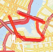 Jerry's 1st Leg Bridge Run-Williamsburg/Manhattan Run route image